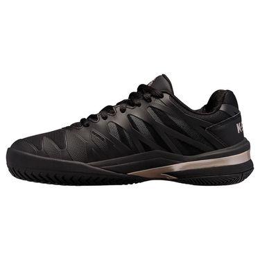 K Swiss Ultrashot 2 Womens Tennis Shoe Black/Rose Gold 96168 091