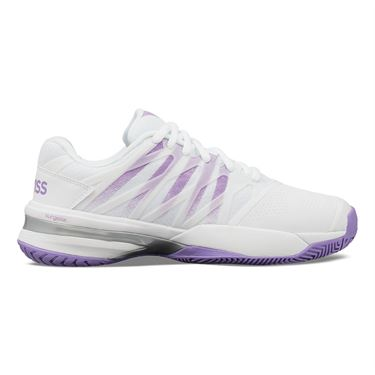 K Swiss Ultrashot Womens Tennis Shoe White/Fairy Wren/Silver 96168 152