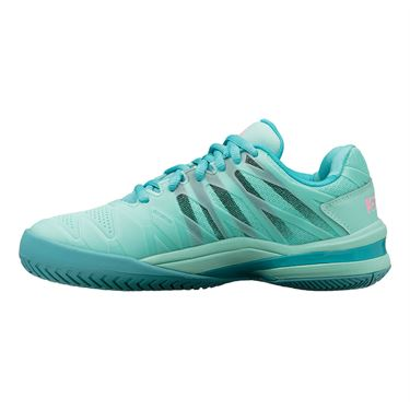 K Swiss Ultrashot 2 Womens Tennis Shoe Aruba Blue/Malibu Blue/Soft Neon Pink 96168 435