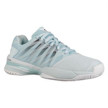 K Swiss Ultrashot 2 Womens Tennis Shoe - Pastel Blue/White/Black