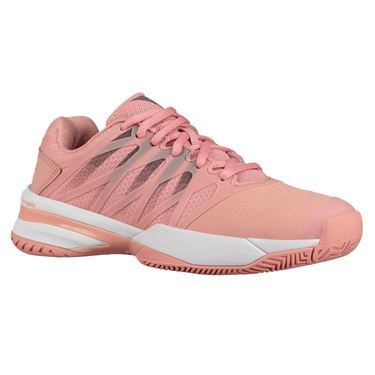 K Swiss Ultrashot 2 Womens Tennis Shoe - Coral Almond/Plum Kitten