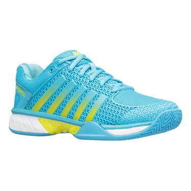 K Swiss Express Light Womens Pickleball Shoe Aqua 96563 474 M