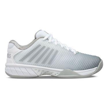 K Swiss Hypercourt Express 2 Womens Tennis Shoe White/Highrise/Sliver 96613 150