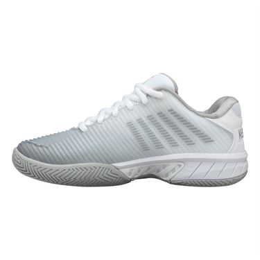K Swiss Hypercourt Express 2 Womens Tennis Shoe White/Highrise/Sliver 96613 150