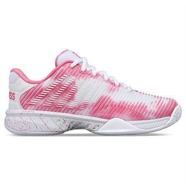 K Swiss Hypercourt Express 2 LE Womens Tennis Shoe White/Pink 96964 946