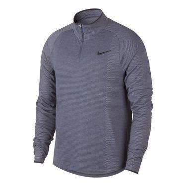 Nike Court Challenger 1/2 Zip - Light Carbon/Gridiron