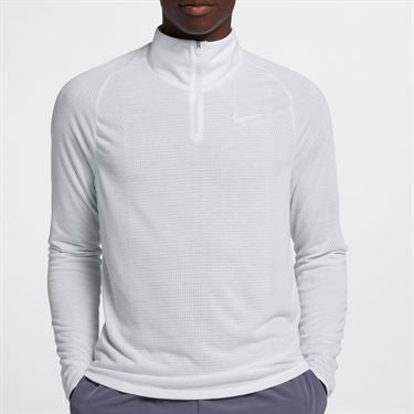 Nike Court Challenger 1/2 Zip - White