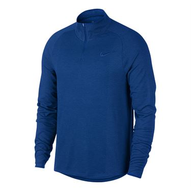 Nike Court Challenger 1/2 Zip Mens Indigo Force AA2067 438