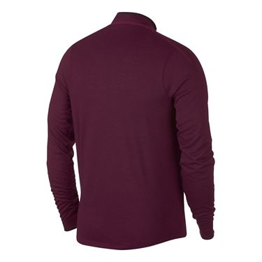 Nike Court Challenger 1/2 Zip - Bordeaux/Black