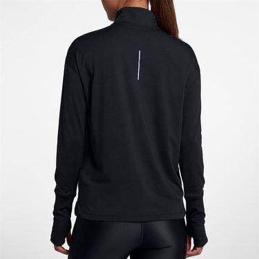 Nike Element Half Zip Top - Black