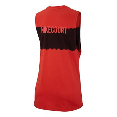 Nike Court Muscle Tank - Habanero Red