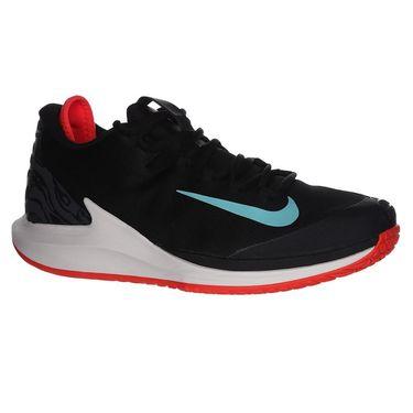 Nike Court Air Zoom Zero Mens Tennis Shoe - Black/Aurora Green/Phantom