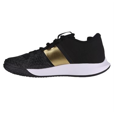 Nike Court Air Zoom Zero Mens Tennis Shoe Black/Metallic Gold/White AA8018 005