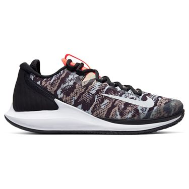 Nike Court Air Zoom Zero Mens Tennis Shoe - Photon Dust/White/Black/Hyper Crimson