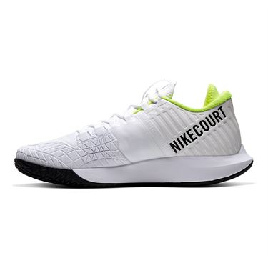 Nike Court Air Zoom Zero Mens Tennis Shoe White/Black/Volt AA8018 104