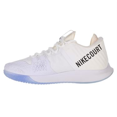 Nike Court Air Zoom Zero Mens Tennis Shoe - White/Metallic Summit/ White/Black/Canary