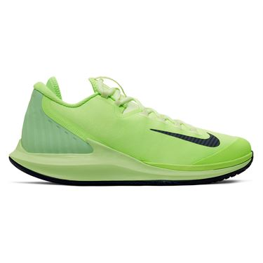 Nike Court Air Zoom Zero Mens Tennis Shoe Ghost Green/Blackened Blue/Barely Volt AA8018 302
