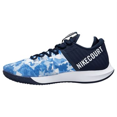Nike Court Air Zoom Zero Mens Tennis Shoe Royal Pulse/Obsidian/White/Indigo Storm AA8018 406