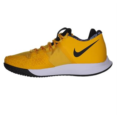 Nike Court Air Zoom Zero Mens Tennis Shoe - University Gold/Black/White/Volt Glow