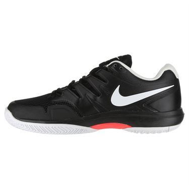 Nike Air Zoom Prestige Mens Tennis Shoe - Black/White/Bright Crimson