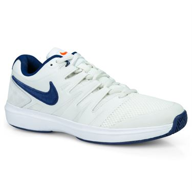 new product a0edc eac1b Nike Air Zoom Prestige Mens Tennis Shoe - Phantom Blue Void Sail Orange  Blaze ...