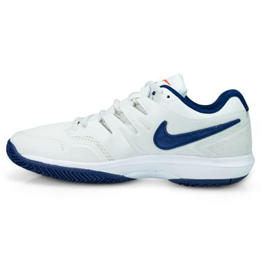 Nike Air Zoom Prestige Mens Tennis Shoe - Phantom Blue/Void Sail/Orange Blaze
