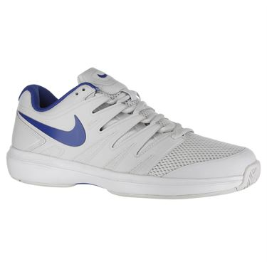 Nike Air Zoom Prestige Mens Tennis Shoe - Vast Grey/Indigo Force