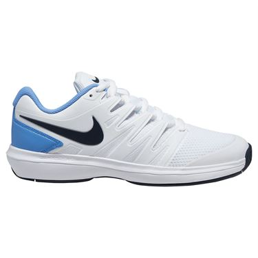 Nike Air Zoom Prestige Mens Tennis Shoe White/Obsidian/Royal Pulse AA8020 102