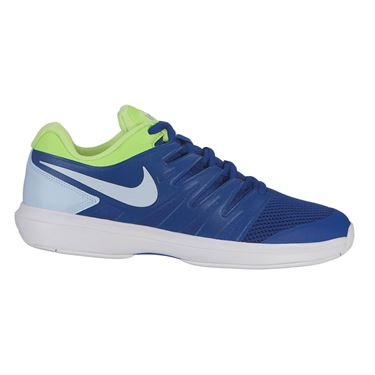 Nike Air Zoom Prestige Mens Tennis Shoe - Indigo Force/Half Blue/Volt Glow/White