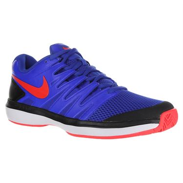 Nike Air Zoom Prestige Mens Tennis Shoe - Racer Blue/Bright Crimson/Black/White