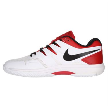 Nike Air Zoom Prestige Mens Tennis Shoe - University Red/Black/White