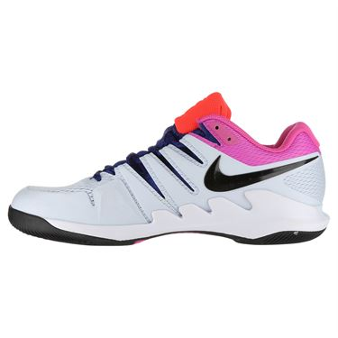 Nike Air Zoom Vapor X Clay Mens Tennis Shoe - Half Blue/Black/White/Laser Fuchsia