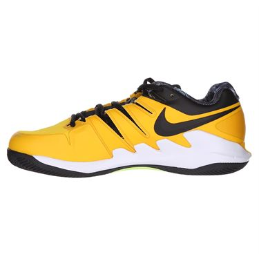 Nike Air Zoom Vapor X Mens Clay Tennis Shoe -University Gold/Black/White/Volt Glow