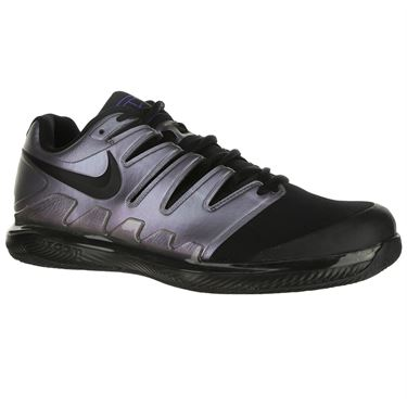 Nike Air Zoom Vapor X Clay Court Mens Tennis Shoe - Multi Color/Black/Psychic Purple