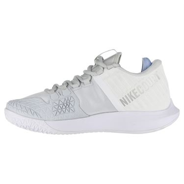 Nike Court Air Zoom Zero Womens Tennis Shoe - Pure Platinum/Metallic Silver/Aluminum