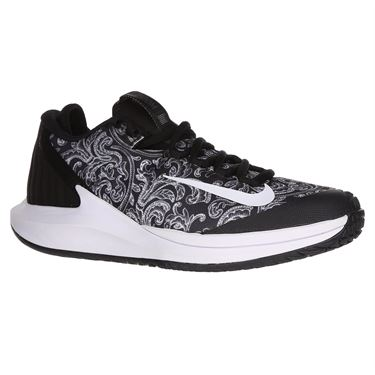 Nike Court Air Zoom Zero Womens Tennis Shoe - Black/White