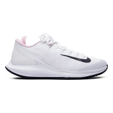 Nike Court Air Zoom Zero Womens Tennis Shoe White/Black/Pink Foam AA8022 105