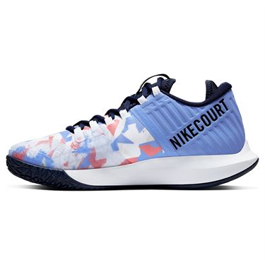 Nike Court Air Zoom Zero Womens Tennis Shoe Royal Pulse/Obsidian/White/Sunblush AA8022 406