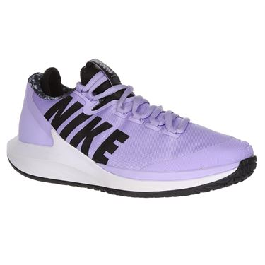Nike Court Air Zoom Zero Womens Tennis Shoe - Purple Agate/Black/White/Hyper Crimson