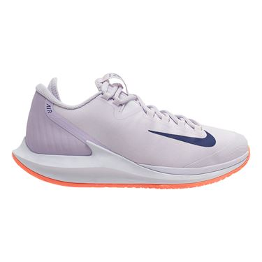 Nike Court Air Zoom Zero Womens Tennis Shoe Barely Grape/Regency Purple/Bright Mango AA8022 501