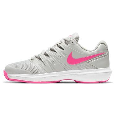 Nike Air Zoom Prestige Womens Tennis Shoe Grey Fog/Pink Blast/White AA8024 002