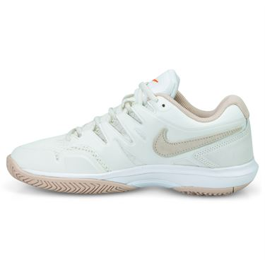 Nike Air Zoom Prestige Womens Tennis Shoe - Phantom/Particle Beige/Sail/Orange Blaze