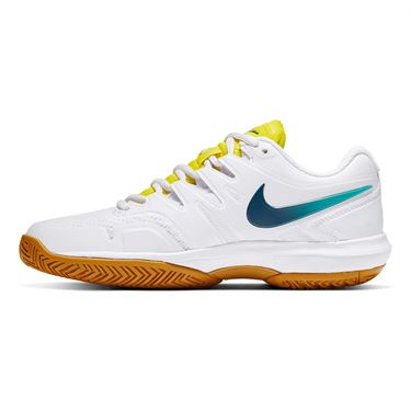Nike Air Zoom Prestige Womens Tennis Shoe White/Valerian Blue/Oracle Aqua AA8024 107