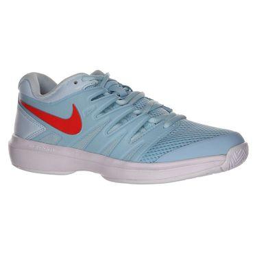 Nike Air Zoom Prestige Womens Tennis Shoe - Still Blue/Bright Crimson/Topaz Mist
