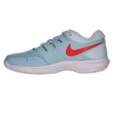 Nike Air Zoom Prestige Womens Tennis Shoe - Still Blue/Bright Crimson/Topaz Mist