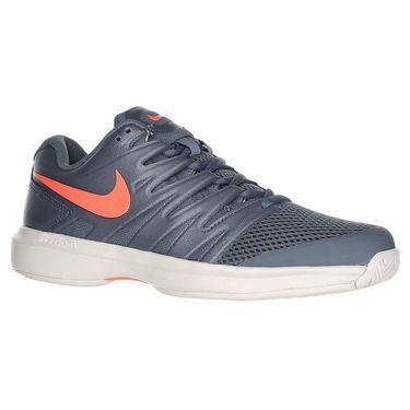 Nike Air Zoom Prestige Womens Tennis Shoe - Metallic Blue Dusk/Bright Mango/Phantom