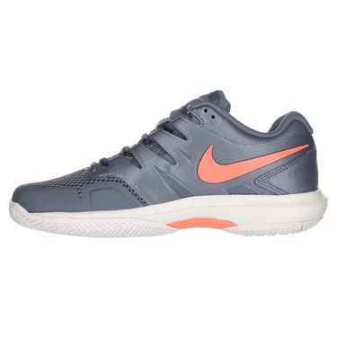 Nike Air Zoom Prestige Womens Tennis Shoe - Metallic Blue Dusk/Bright Mango/Phantom