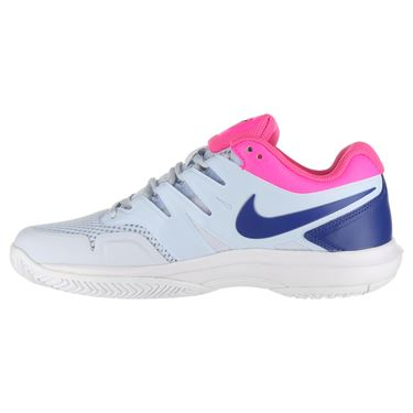 Nike Air Zoom Prestige Womens Tennis Shoe - Half Blue/Indigo Force/Pink Blast/White