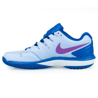 Nike Air Zoom Prestige Womens Tennis Shoe - Royal Tint/Monarch Purple/Military Blue