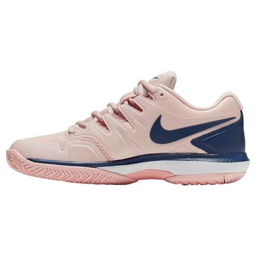 Nike Air Zoom Prestige Womens Tennis Shoe - Echo Pink/Coastal Blue/Storm Pink/White